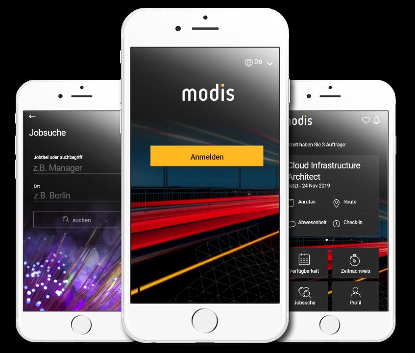 Modis App 3 Screenshots