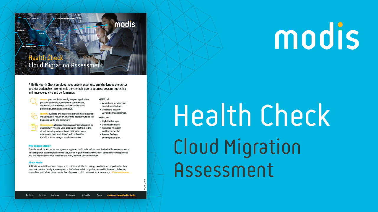 Modis Australia | Health Check - Cloud Migration Assessment