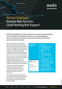 Modis Australia   Service Catalogue Micro Thumbnail - Amazon Web Services Cloud Hosting And Support
