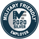 Military Friendly Employer 2020 Silver