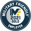 Military Friendly Employer - 2021 Gold